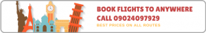 call 09024097929 to book a flight