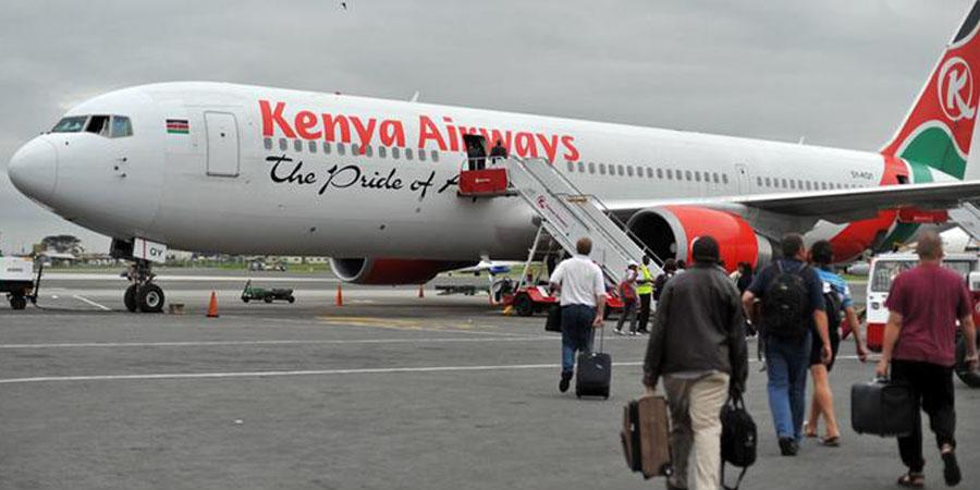 International airlines in Nigeria: Kenya Airways